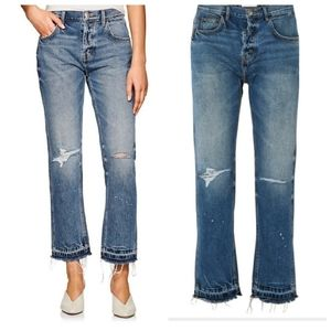 New CURRENT/ELLIOTT The Throwback High-Rise Jeans